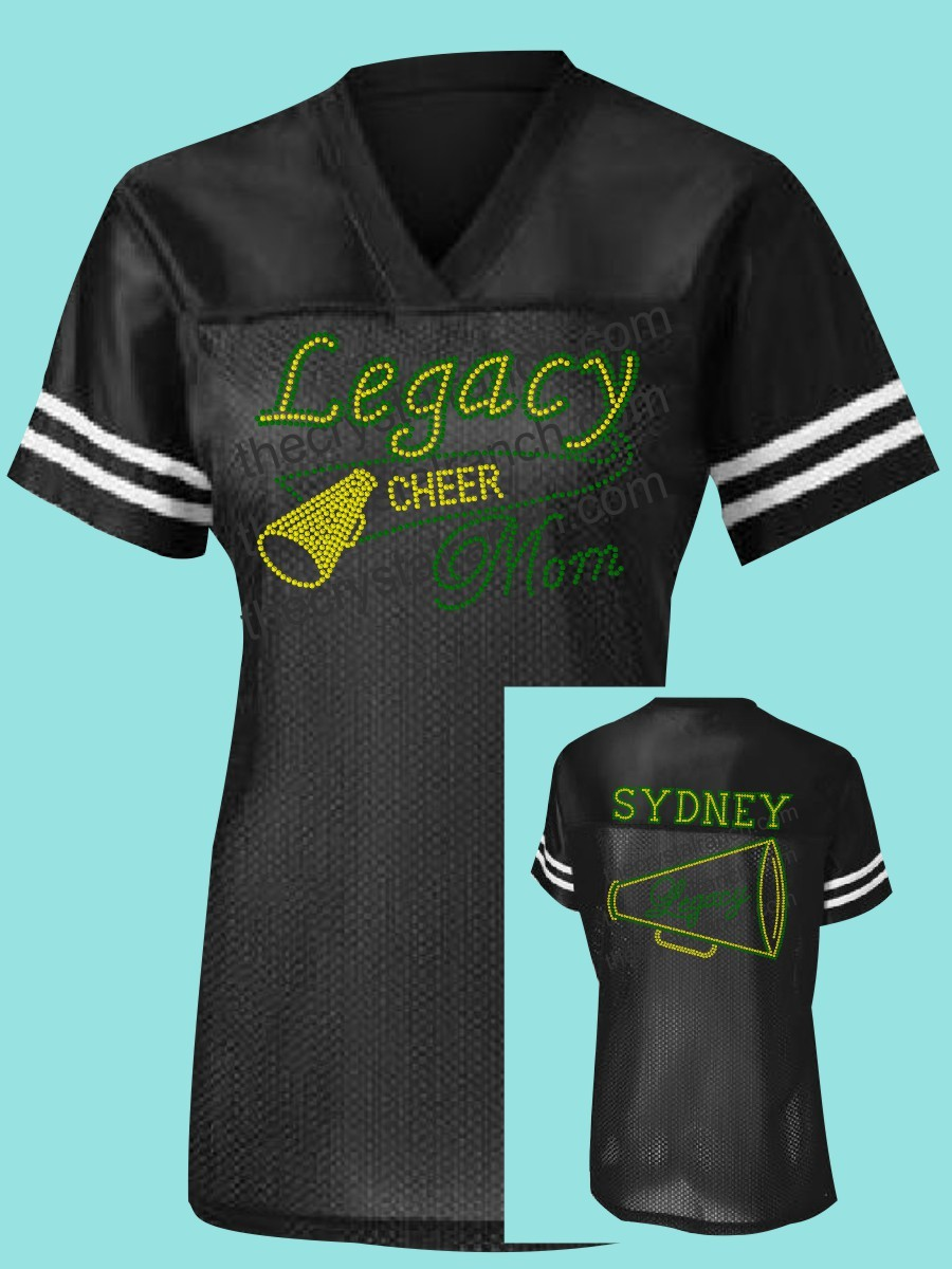 Legacy Eagles Cheer Rhinestone Jersey