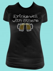 Drinks Well with Others- Beer Tee TB034