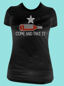 Come and Take It! Rhinestone Tee TB048