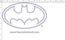 Batman Rhinestone Transfer CRY066c
