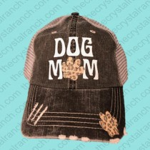 Dog Mom Glitter Cap CTV00