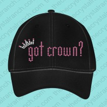 got crown? cap CG009a