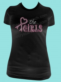 Love the Girls Rhinestone Tee TG081