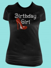 Birthday Girl Rhinestone Tee TG119