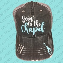 Goin' to the Chapel Glitter Cap CFW004