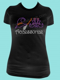Accessorize Halloween Rhinestone Tee TH101