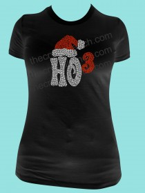 Ho3 Rhinestone Tee TH167