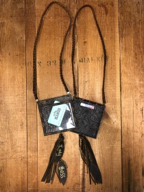 Upcycled LV Small Badge Holder