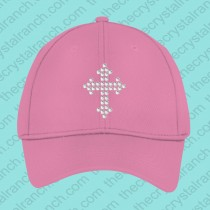 Jenni Cross Rhinestone cap CJ029