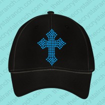Lainey Cross Rhinestone Cap CJ042