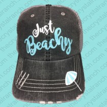 Just Beachy Glitter Cap CGB004