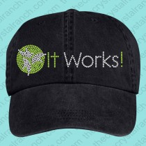 It Works Rhinestone Cap CQ072A