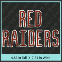 Red Raiders Transfer CRT054A