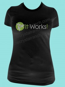 It Works Rhinestone Tee TQ072
