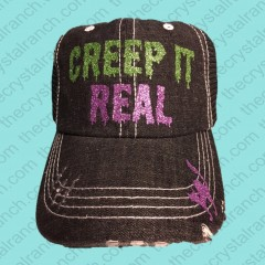 Creep It Real Glitter Cap