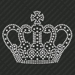 DY001 Queens Crown Rhinestone Decal