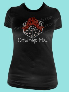 Unwrap Me! Rhinestone Tee TH083