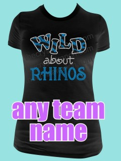 WILD About YOUR TEAM Custom Tee TP017